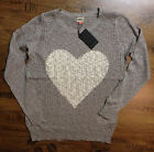 "ONLY STRICKPULLOVER HEART LONG PULLOVER  DAMEN ""NEUWARE""/Gr. M-XL!!"