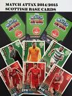 MATCH ATTAX SPFL 2014/2015 SCOTTISH BASE CARDS No 56 - 125 BUY 2 GET 3 FREE
