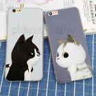 Funny Silk Soft Bumper Hard Cover Hybrid Back Case Skin For iPhone 5S 6 6S Plus