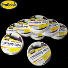 Prosolve™ Masking Tape 25mm X 50m Indoor/Outdoor General Purpose Decorating NEW