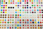 330PCS Lovely Cute Home Button Sticker For iPhone 6+ Plus 5S 4S iPad5/4 Air Mini