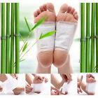 10-10000 Premium Bamboo Vinegar Detox Foot Pads Patch Organic Herbal Cleansing