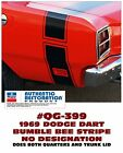 GE-QG-399 1969 DODGE DART - BUMBLE BEE STRIPE KIT - NO NAME STRIPE - SPECIAL $147.43 CAD on eBay