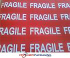 Fragile Labels - various sizes - 10 or 20 sheets per pack