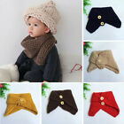 Внешний вид - Toddler Baby Kids Girl Boy Neck Knitted Scarf Snood Circle Shawl Neckerchief