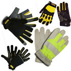 Stanley ProDex Heavy Task High Visibility Driver Activity Gloves - 4 Styles