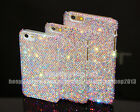 Handmade Bling AB Austria Diamond Real Crystal Case Cover For iPhone 7/7 Puls