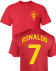Cristiano Ronaldo Portugal Futbol Player Soccer Team 2 Sides Men's Tee Shirt 935