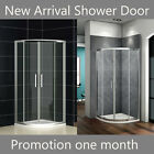 New Quadrant Shower Enclosure Walk In Corner Cubicle Glass Screen Door And Tray