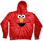 Elmo Tie Dye Hoodie Kids XS2-4-L14-16 Adult S-3XL Adorable,For Kids!!! Must Have