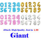 """40"""" Giant Foil Number Balloons Helium Large Baloons Happy Birthday Party Gift"""