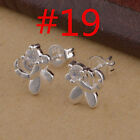 Fashion Jewellery Solid Silver Lady 925 Sterling Sliver Eerrings Gift New