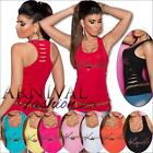 NEW SLEEVELESS SHIRTS for WOMEN size 6 8 10 TANK TOPS for LADIES SINGLET XS S M
