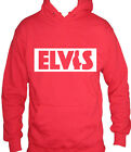 Fm10 Hooded Sweatshirt Man Elvis Presley Singer Gift Idea the King Musi