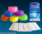 OPRO Refresh & Gumshield Case ~ 20 Mouthguard Cleaning Tablets & Storage Box