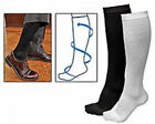 NEW Black Miracle Copper Socks White Anti Fatigue Compression Socks