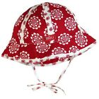 *NEW* BOBOLI GIRLS VISCOE FLORAL SUN HAT BABY TODDLER