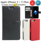 Premium Lightweight New Leather Wallet Case Cover For Apple iPhone 7 / 7 Plus