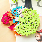 5PCS/Lot Tree Shape Drink Coasters Skidproof Placemat Home Table Cup Mat Pads