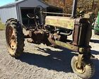 1937 John Deere Unstyled AN Tractor  ie- Model A B G H Antique