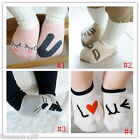 HX Newborn Baby Girl Boy Lovely Rabbit Heart Short Socks Cotton Rich 0-24 month
