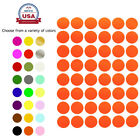 Multi Colored Rounded Stickers ~3/4 Inch 10 Colors Available 720 Pack 17mm Dots