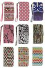 PU Leather Camo Card Holder Pouch Stand Cover Wallet Hybrid Samsung Galaxy S5