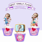 CUSTOM PEOPLE Doc McStuffins toys Birthday Party Cupcake Toppers cup cake
