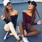 Stretch Fashion Women Fit Long Sleeve Casual Pullovers 1PCS Sweaters Knitted