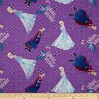 LICENSED DISNEY FROZENS SISTERS FOREVER QUILT SEWING FABRIC Free Oz Post