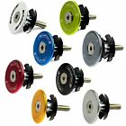 """FSA Anodized Alloy 28.6mm 1-1/8"""" Bike Bicycle Cycling Fork Top Cap + Star Nut"""