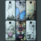 Butterfly Retro UK US Wolf Tiger back hard case cover For HTC Desire 300 301E