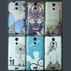 New Back hard case cover For Sony Xperia ZR M36H C5502 C5503 Screen Protector
