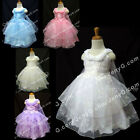 SP8 Baby Girls Wedding Communion Graduation Recital Birthday Party Pageant Dress