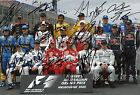 Formula One Grand Prix Drivers 2005 autographs, IP signed photoraph