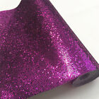 Twinkle Hexagon Diamond Glitter Sparkle fabric Leather Vinyl Craft Bows Material