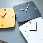 Modern Home Kids Room Art Decor Eco Silent Wall Clocks square Clock Gift NEW