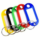 Stainless steel key ring braided wire cable key chain screw lock loop car US Lot