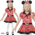 GIRLS CHILD MINI CUTE MOUSE SPOT SPOTTY KIDS FANCY DRESS COSTUME PARTY OUTFIT