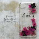 XAK Disegno Pressed Pink Flower Case Cover For Samsung Note iPhone 7 Plus LG G5