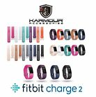 Karmour FitBit Charge 2 Replacement Strap Band Metal Buckle Wristband Accessory