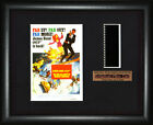 BOND 007  On Her Majesty's Secret Service     FRAMED MOVIE FILMCELLS