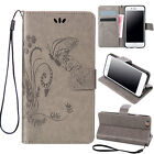 Pattern Stand Leather Magnetic Wallet Card Case Flip Cover For iPhone 5 5s SE