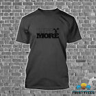 "HEAVY COTTON ""LIFT MORE"" WEIGHT/POWER LIFTING BODYBUILDING WORKOUT MENS T-SHIRT"