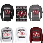 Unisex Mens Ladies Watch Me Whip SLEIGH Ugly Christmas Jumper Fun Gift Sweater