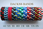 Rugby Union Guinness Pro 12 Mannschaften Hand Made 550 Paracord