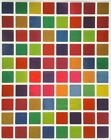 Square Colored Coding Labels Half Inch Stickers Metallic Colors High Quality