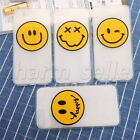 Smile Face Soft TPU Silicone Rubber Clear Case Back Cover For iPhone5S 6S 7 Plus
