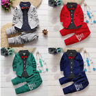 2pcs Fashion lovely Kids Baby Girls Toddler tops + Cotton pants Clothes Outfits
