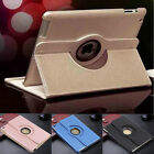 360 Rotating Stand Leather Smart Cover Case For Apple iPad 2/3/4 /mini/Air 2/Pro